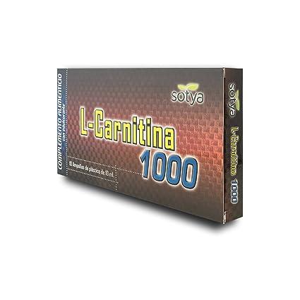 SOTYA - SOTYA L-Carnitina 1000 mg 10 ampollas