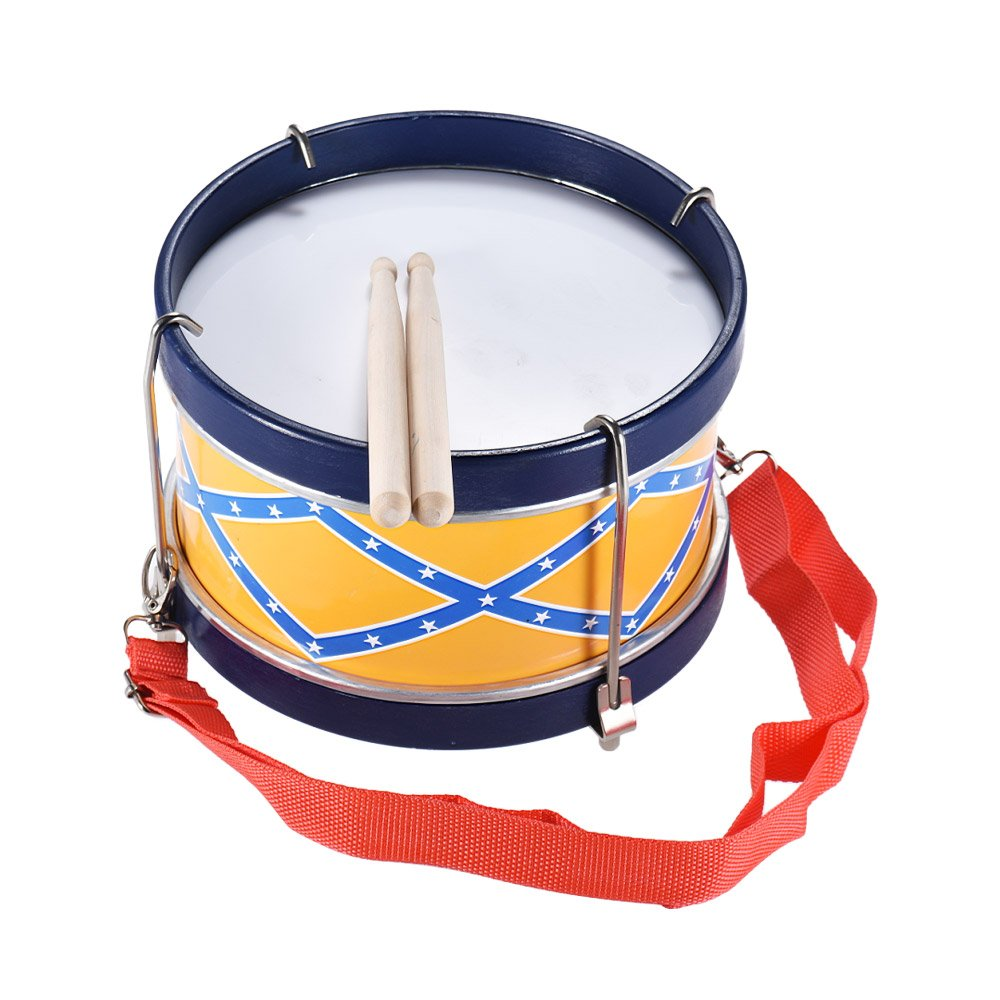 ammoon Snare Drum Musical Toy Percussion Instrument with Drum Sticks Strap for Children Kids 1