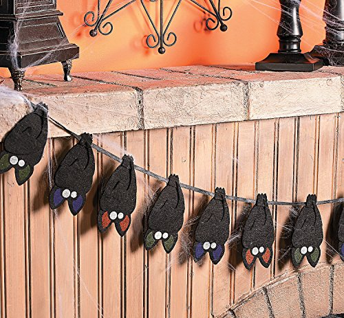 Layered Bat Garland. 5