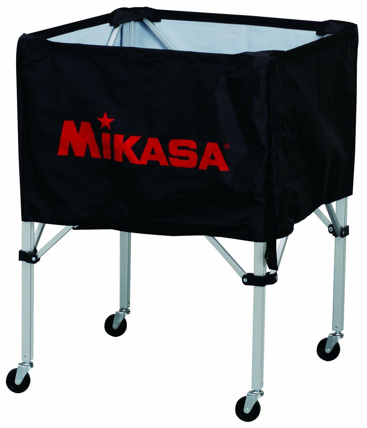 ミカサ ボールカゴ ブラック フレーム/幕体/キャリーケース3点セット BC-SP-S BK B003T9W5WU