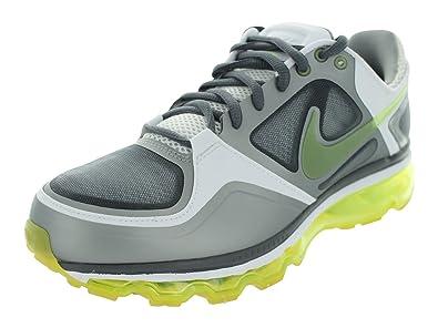 Nike Men's Nike Trainer 1.3 Max+ Running Shoes 11 Dark Grey/Volt/Matte