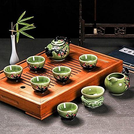 Bone China High Grade Ceramic Household Tea Cup Sets