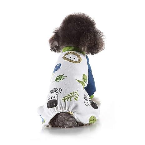 Dkings Pet Gato Perro Ropa Pijama Mascota Halloween Traje ...