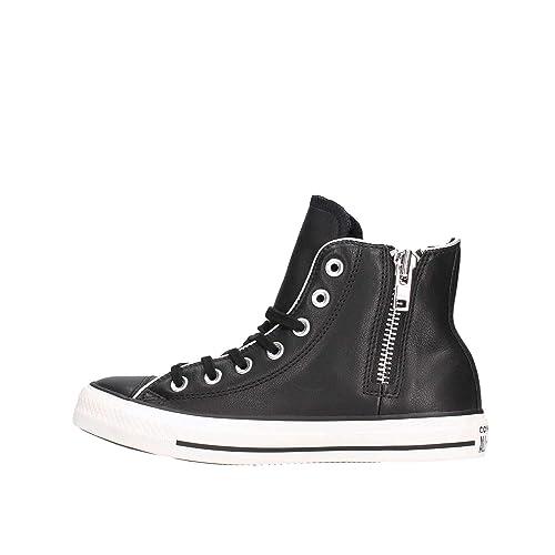 Converse Chuck Taylor CTAS Side Zip Hi, Zapatillas para Mujer: Amazon.es: Zapatos y complementos