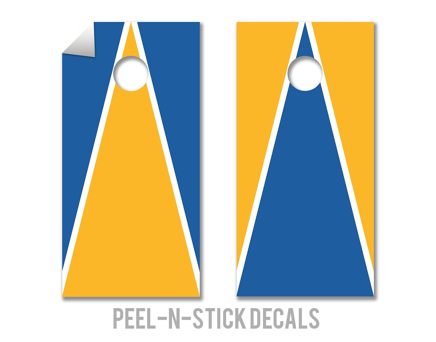 UCLA Bruins Cornhole Board Decals by The Cornhole Crew