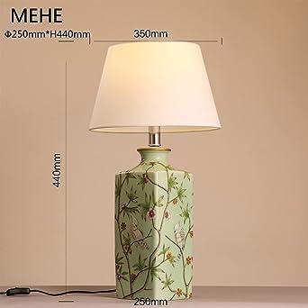 Moderne Chinesische Keramik Gemütliche Und Elegante Neoklassizistische  Tischlampe Schlafzimmer Nachttischlampen Dekoration Tuch Kunst Tischlampe
