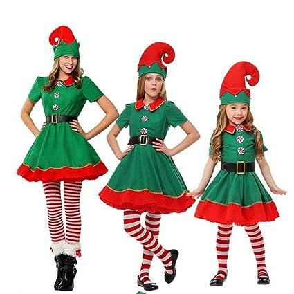 Amazon.com: Adult Child Prestigious Womens Santa Claus ...
