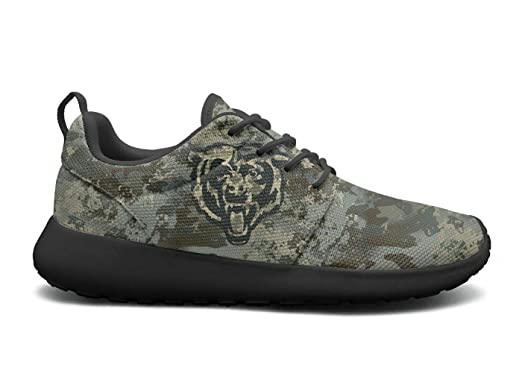 4c19ad9fb59d Amazon.com  Womens Roshe One Lightweight Military Camouflage Cool Mesh  Cross-Country Running Sneakers Shoes  Clothing