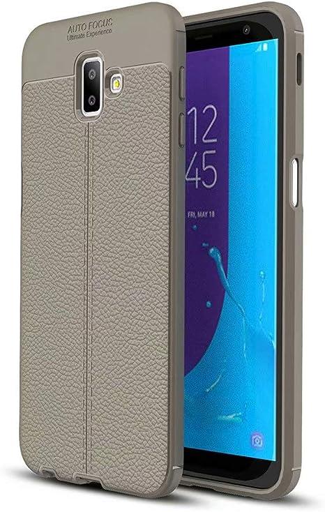 NiaCoCo Compatible con Samsung Galaxy J6 Plus(2018) Funda Textura ...
