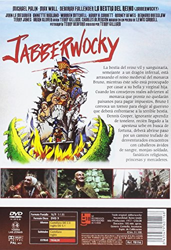 La Bestia del Reino DVD 1977 Jabberwocky
