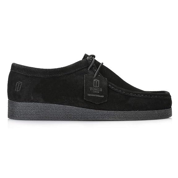 London Sacs Suède Et Chaussures Noir Chaussures Tower pYdwZqZ