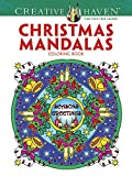 Creative Haven Christmas Mandalas Coloring Book (Creative Haven Coloring Books)
