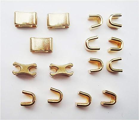# 10 Brass Zipper Bottom Stops for # 10 Brass Zipper Tape Pack of 100 pcs