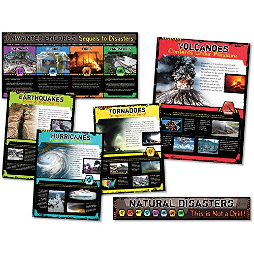 North Star Teacher Resource NST3053 Natural Disasters Bulletin Board Set, 6 Pieces by North Star Teacher Resource