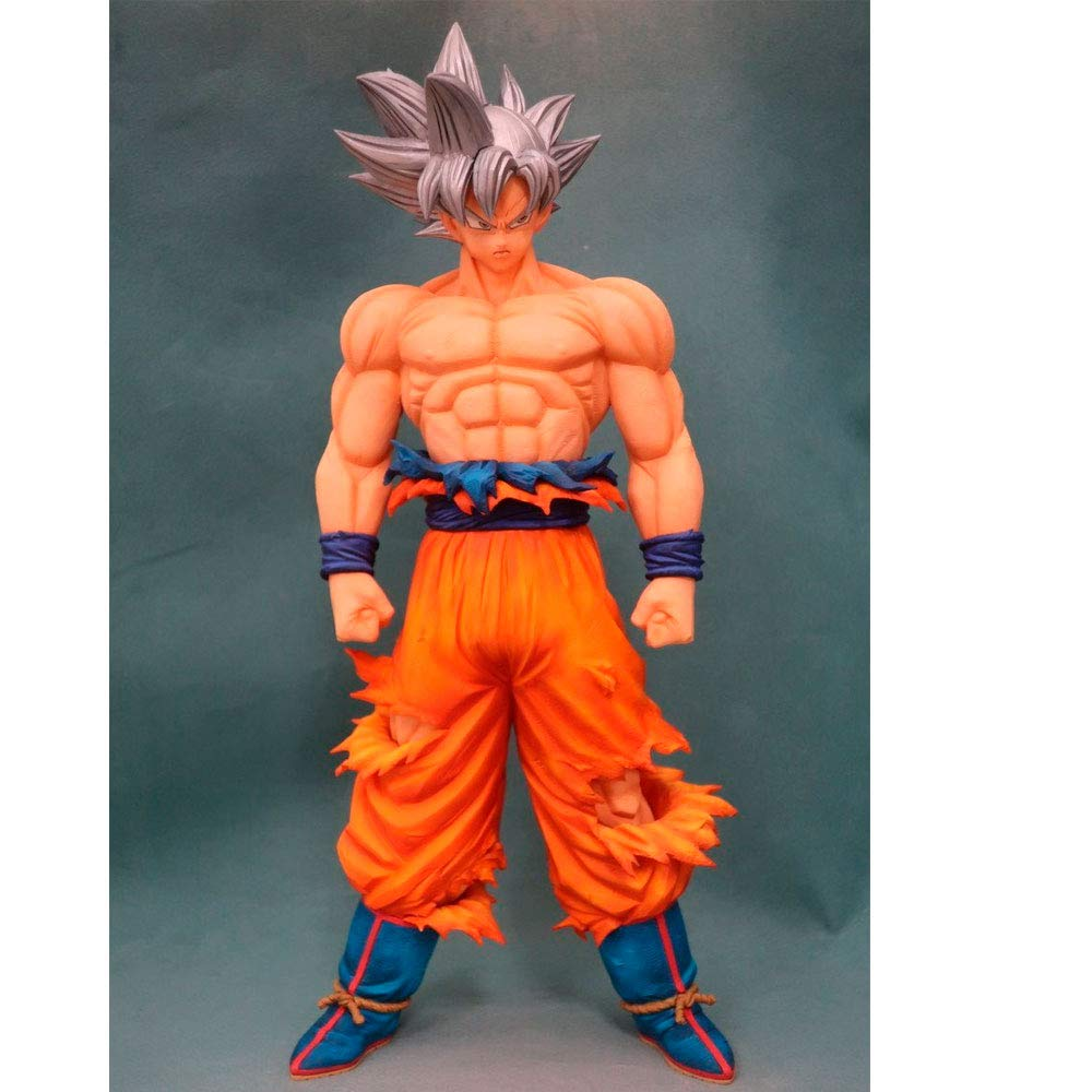Banpresto Dragon Ball Super Statue - Grandista Resolution of Soldiers - Son Goku Instinct Ver., 81324 - 28cm