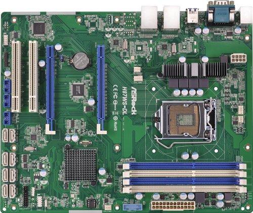 ASRock Motherboard ATX DDR3 1066 LGA 1150 H87WS-DL