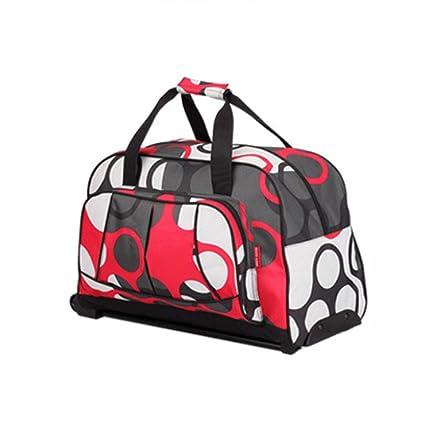 MOXIN Bolsos de viaje de las señoras equipaje de mano de las mujeres con las ruedas