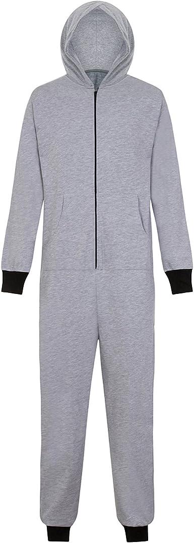 fanoriginals Pijama de una Pieza con Capucha - para Hombre ...