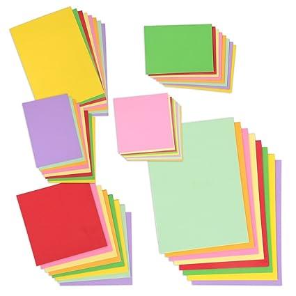 Jumbo Juego de papel para manualidades – Papel multicolor, para ...