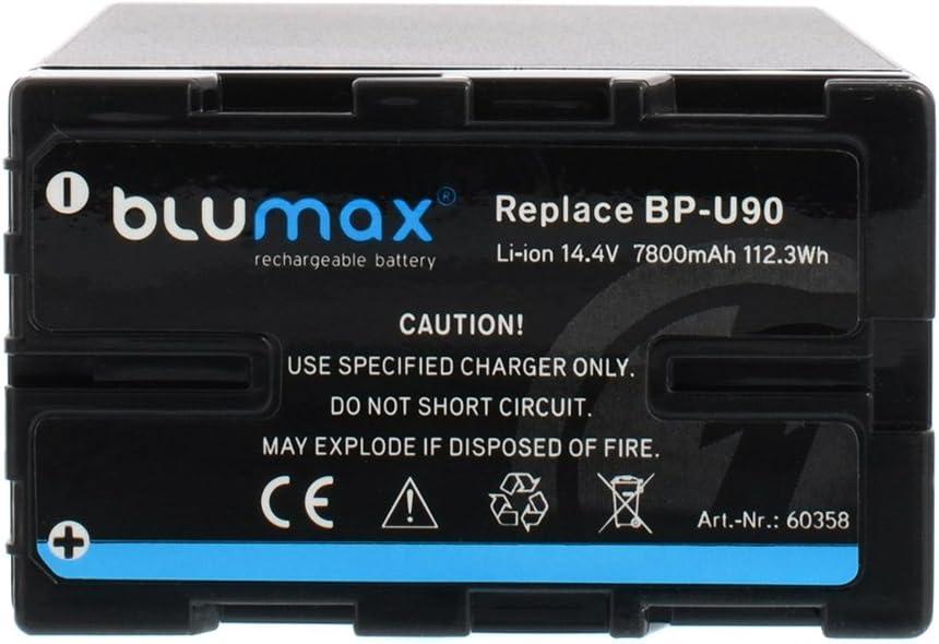 PXW-FS7 112,3Wh f/ür Sony BP-U60 BP-U90 PMW-EX3,PMW-F3 BP-U95 passend f/ür PMW-EX1 PXW-X180 Blumax 2X Akku 7800mAh PMW-150 14,4V PMW-100 BP-U30 PXW-X201 PXW-X160 PMW-200