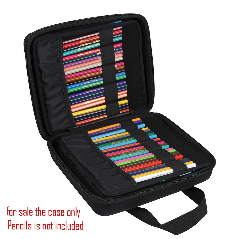 Hermitshell Hard EVA Case Fits Prismacolor Premier Colored Pencils Fits up to 184 Slots by Hermitshell (Image #3)