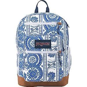 JanSport Unisex Cool Student White Swedish Lace Backpack