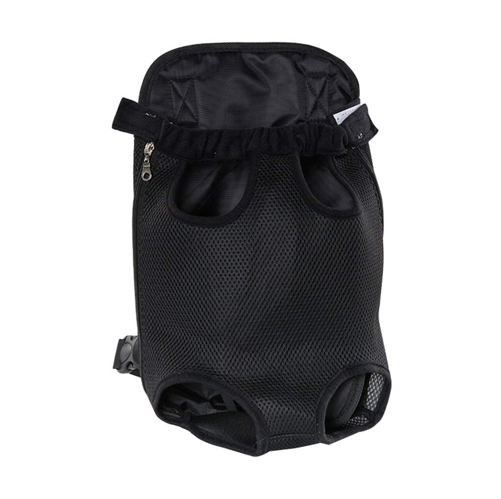 L(45.5KG) Pet Carrier Backpack Soft Canvas Dog Carrier Pack with Mesh Travel Pet Face Backpack to Hold Puppies Dogs Cats