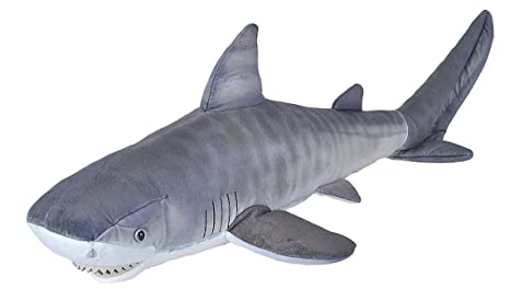 Amazon.com  Wild Republic Tiger Shark Shark Plush 2e3dafcab
