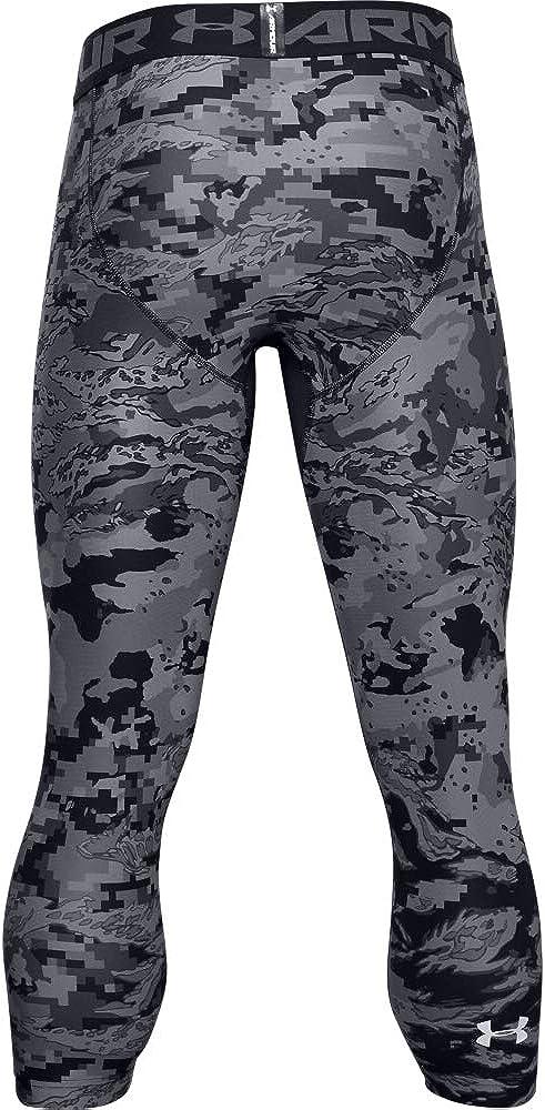 Under Armour Mens HeatGear 3//4 Printed Leggings