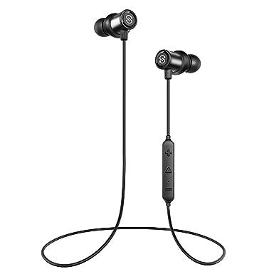 Auriculares Bluetooth auriculares inalámbricos auriculares Bluetooth Magnético, 4.1 (8 horas de tiempo de música