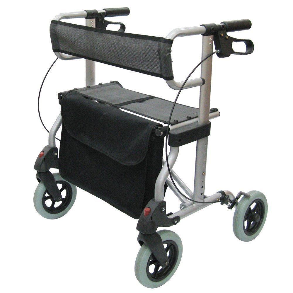 Andador Magic XXL ayuda unidad ligero Andador plegable, asiento ...