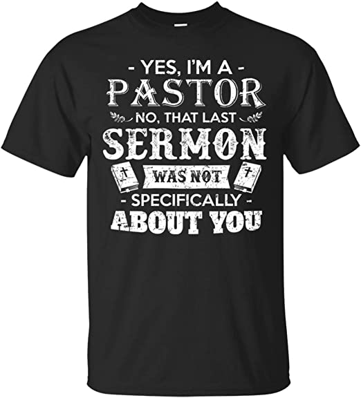Yes Im A Pastor Sermon Bible Hoodie Appreciation Gift Tee