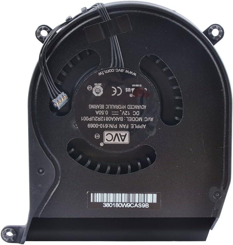 Eathtek Replacement CPU Cooling Fan for Apple Mac Mini A1347 2010 2011 2012 610-0069 922-9953 610-0056 922-9557 610-9557 610-0164 BAKA0812R2UP001