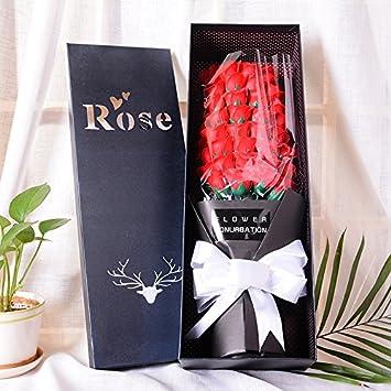 Gaoxu Simulation Rose Hochzeitsgeschenke Seife Blumen Seife