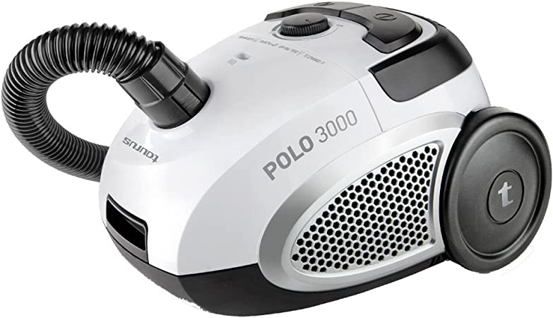 Taurus Polo 3000 3000-Aspirados Compacto con Bolsa, Color Negro y Blanco, 800 W, 78 Decibelios: Amazon.es: Hogar