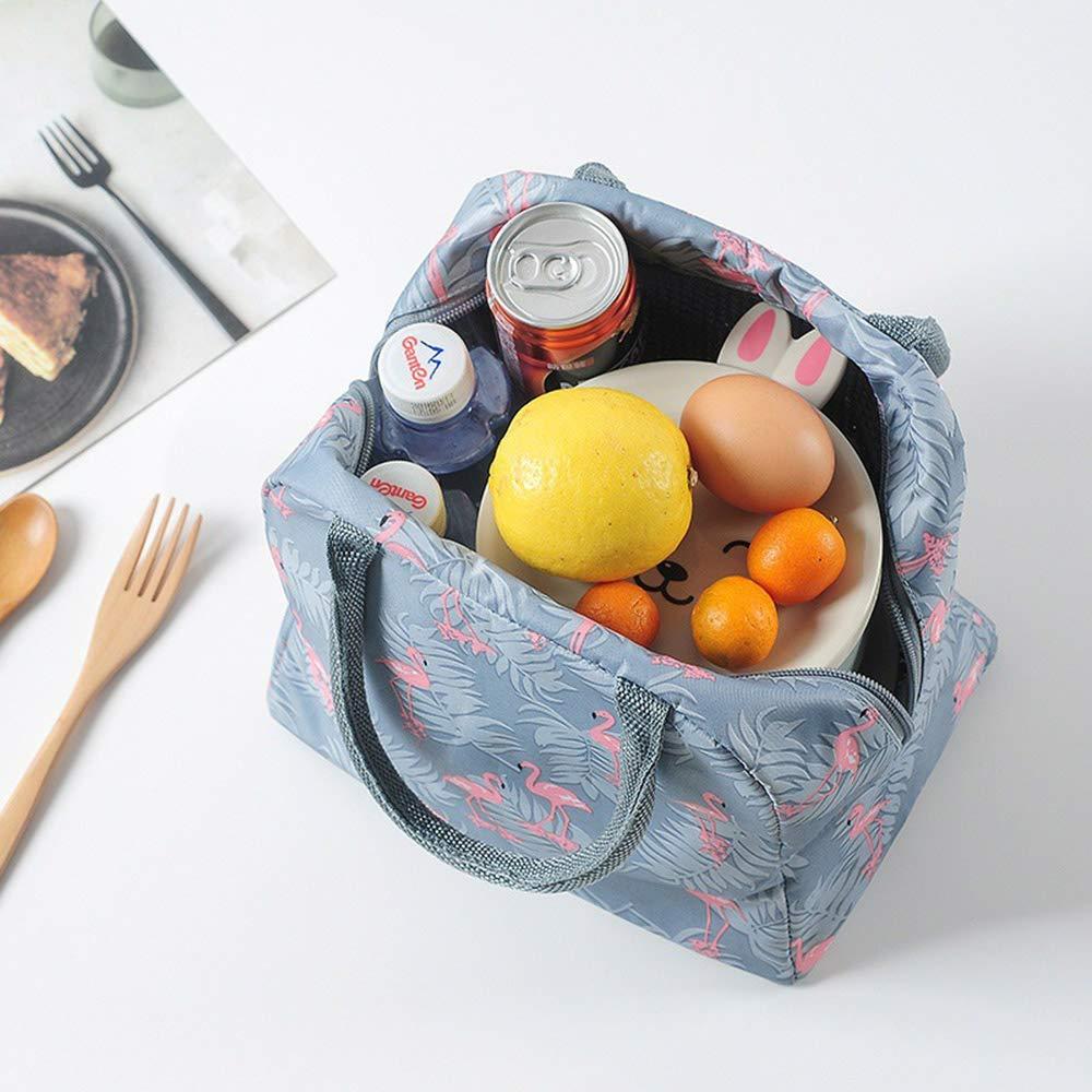 Bolsa Termica Comida Trabajo Almuerzo Porta Alimentos Isotermica Playa Oficina Yogurt Ni/ños Infantil Bolsa Frio Calor Almuerzo