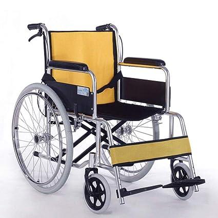 Amazon.com: ChuanHan Disabled, silla de ruedas plegable ...