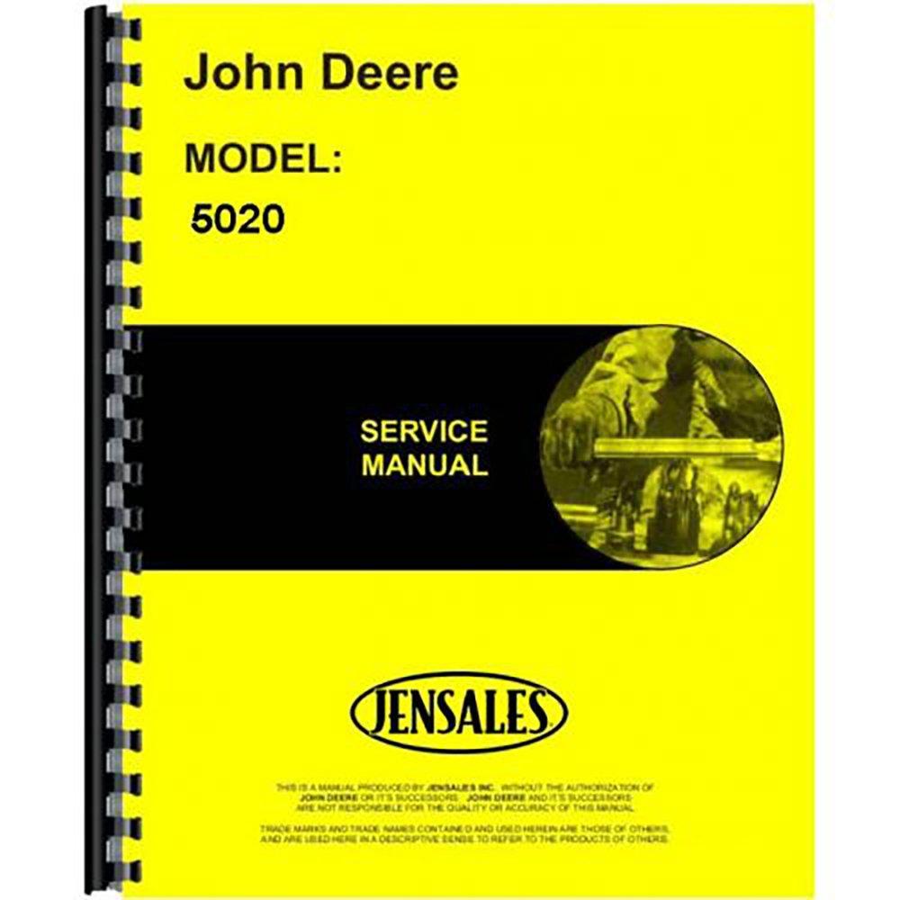 New Service Manual For John Deere Tractor 5020: 0739992213272: Amazon.com:  Books