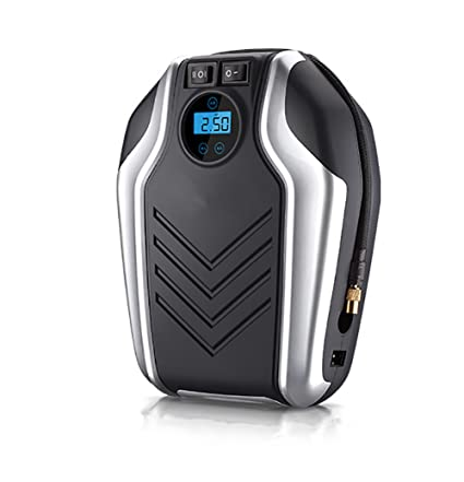 YLG Compresor De Aire,Bomba Inflador Portátil Coche con Pantalla Digital,Luz LED,