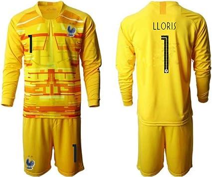 TT377 Sports Camiseta Hugo Lloris de la selección de Francia de 2 ...