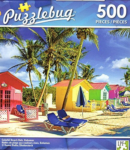 最安値級価格 カラフルなビーチHuts、バハマ – – 500ピースジグソーパズル – – 004 Puzzlebug – P 004 B077Q7CYNV, ハクイシ:76f8b9de --- a0267596.xsph.ru
