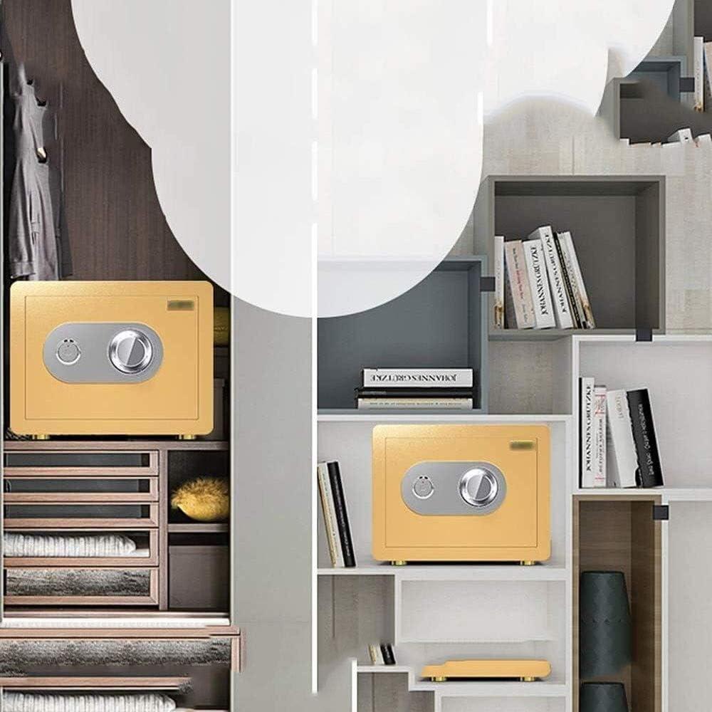 ZSMPY Safe,Safety Box High Security Steel Lock Safes Home Office Money Cash Storage Box 25 Cm Small Home Safe lock box