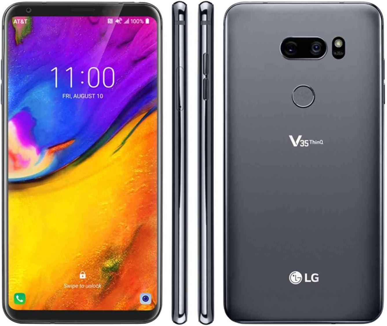 LG V35 Thinq 64GB gsm Desbloqueado LTE Smartphone w/Dual Cámaras ...