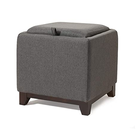 Terrific Amazon Com Jjxzm Footstool Square Dark Grey Ottoman Storage Gmtry Best Dining Table And Chair Ideas Images Gmtryco