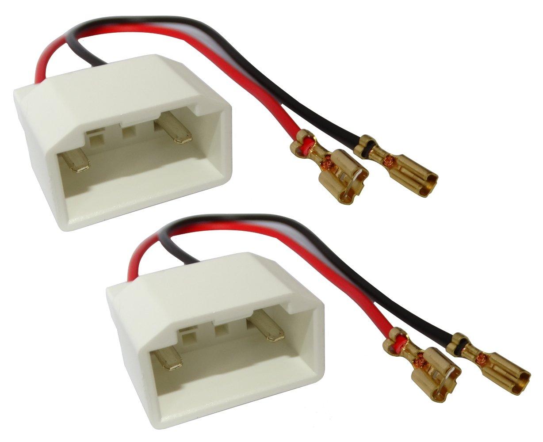 Aerzetix - 2 x connettori per casse acustiche adattatori di altoparlanti per auto . SK2-C10876-Q35