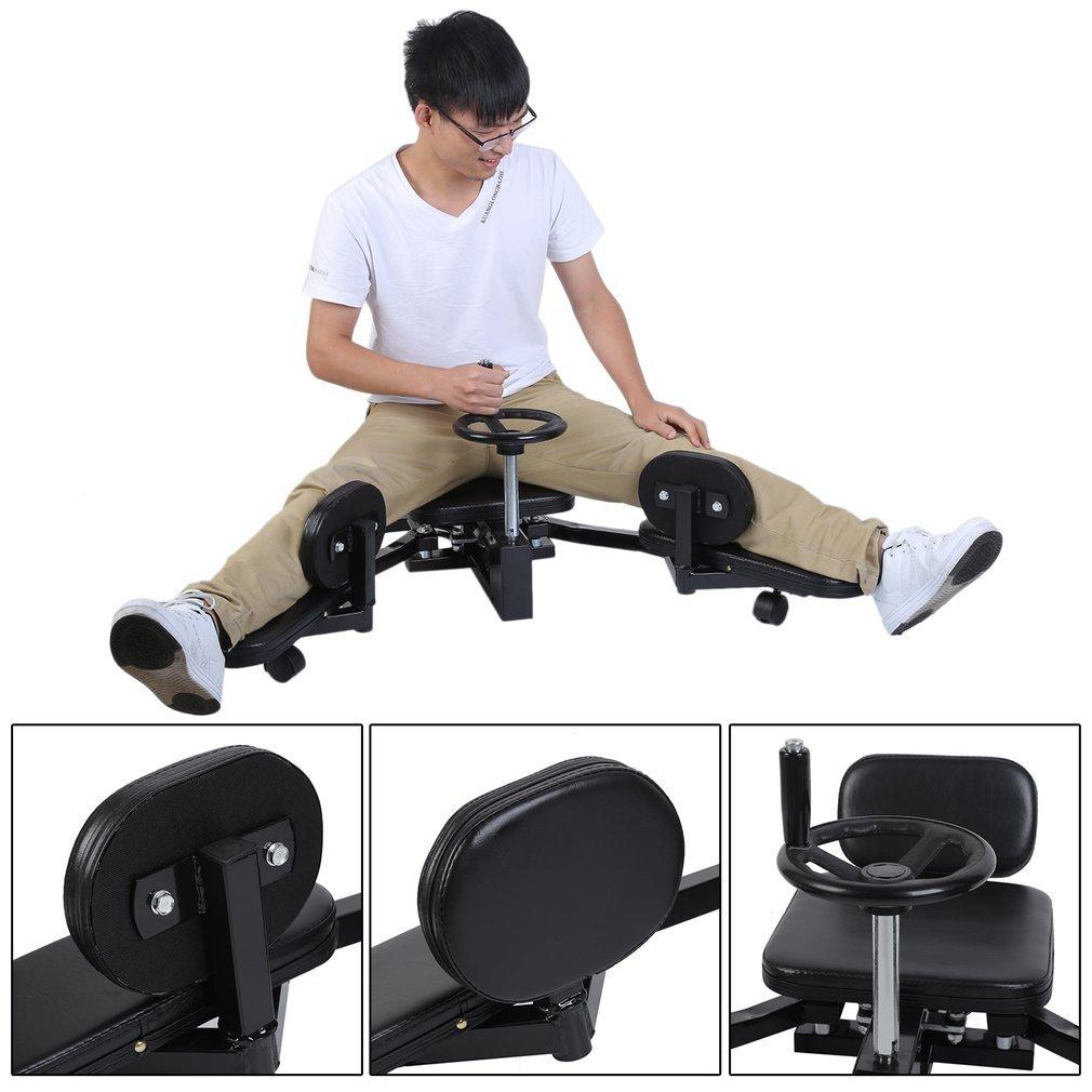 Homgrace Pro Leg Stretch Machine, Heavy Duty Steel Frame Leg Stretcher Training Leg Splitter Gym Gear Fitness Equipment by Homgrace (Image #3)