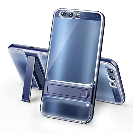 HUAWEI P10 Plus Funda - Soporte Invisible a Prueba de Choques de Protección Transparente Carcasa para HUAWEI P10 Plus - Azul