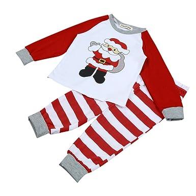 Amazon.com: G-Real - Conjunto de ropa de bebé de Papá Noel ...