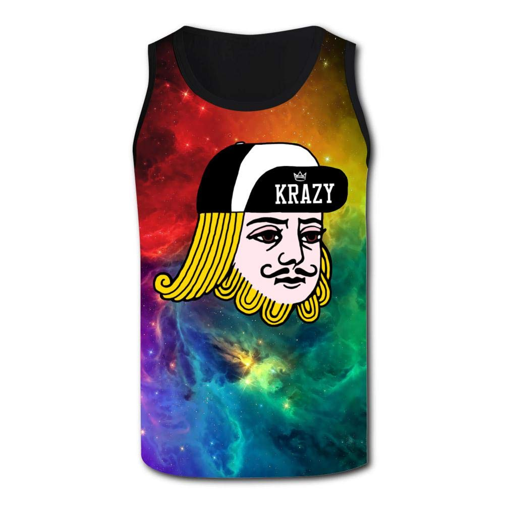 Mens Outdoor Sport Crazyking Tank Top Vest T-Shirt Fast Drying Stylish Sleeveless Tee