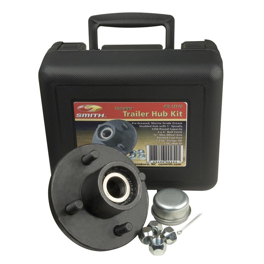 CE SMITH TRAILER HUB KIT PACKAGE 1'' STUD 4 X 4 ''Prod. Type: Boat Outfitting''